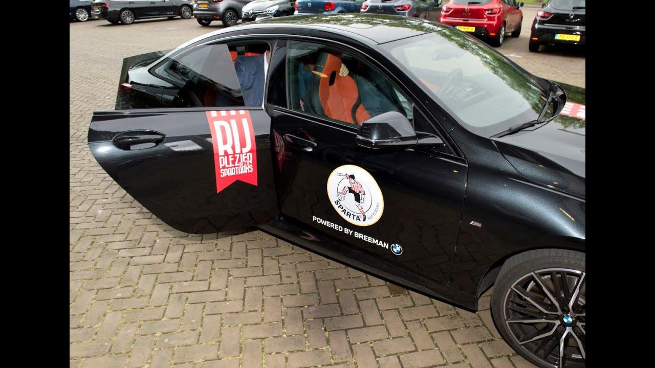 Breeman BMW nieuwe mobiliteitspartner Sparta Rotterdam: 'Klassieke A-merken die bij elkaar passen'