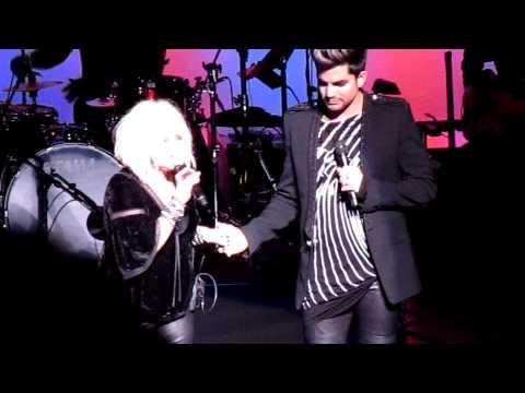 Mad World - Adam Lambert & Cyndi Lauper