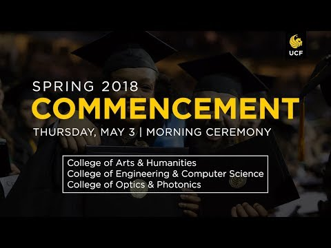UCF Commencement: May 3 | AM