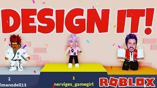Roblox: DESIGN IT - Kaan & Nina lottaper il miglior vestito - Chi è il più bello? Stella della moda