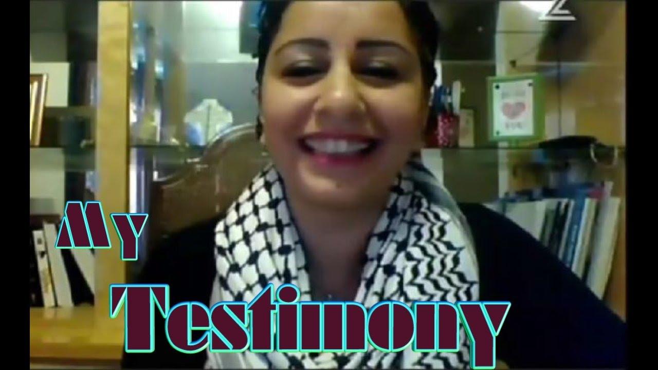 Sunni Muslim Sandra turned to Lord Jesus... Beautiful Testimony