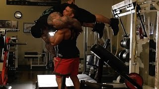 BRIAN CAGE - PROFESSIONAL WRESTLER - 5%ER INTERVIEW - RICH PIANA GETS SLAMMED -GOOD SHIT