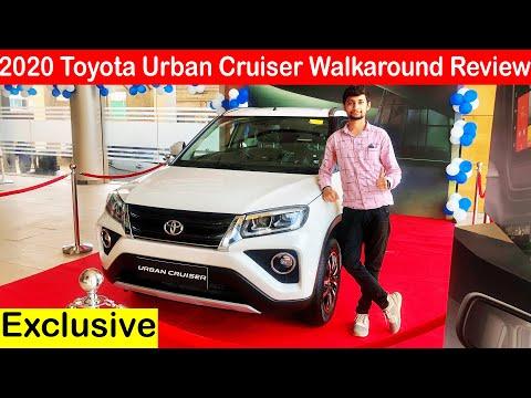 2020 Toyota Urban Cruiser Most Detailed Walkaround Review in Hindi l Aayush ssm 🔥