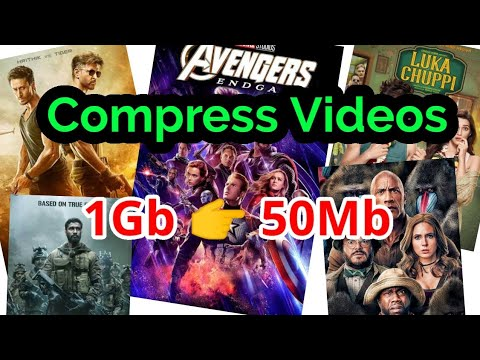 How To Compress Videos In High Quality | Video Compression In Android