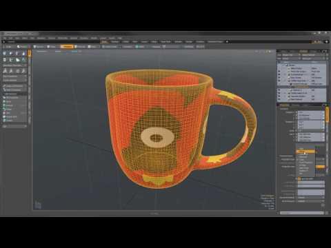 MODO Foundation -- Video 4 Adding Materials
