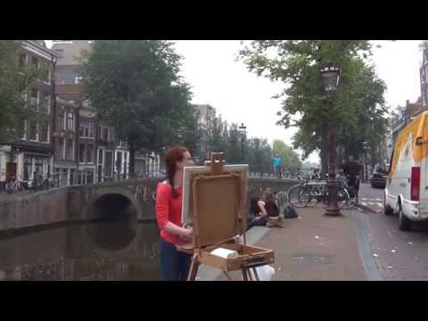 Pintar Rapido Amsterdam 2014 Outdoor Painting Competition Part 1/5