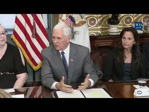 Vice President Mike Pence Joins CMS Administrator Seema Verma for a Listening Session