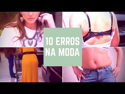 10 erros na moda que você não deve cometer!