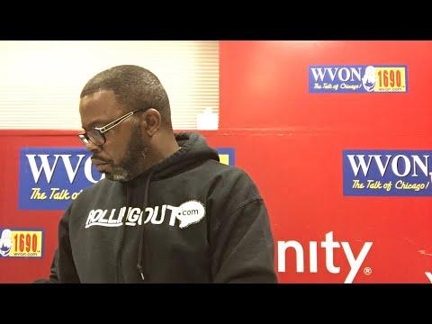 Watch The WVON Morning Show...Garry McCarthy!