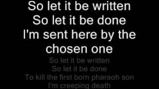Metallica - Creeping death - Lyrics