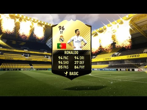 96 SIF RONALDO IN A PACK!!!!! (Best Black Friday & Cyber Monday FIFA 17 Pack Openings)