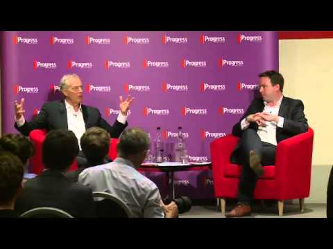 Tony Blair Progress conversation with Matt Forde 22. Juli