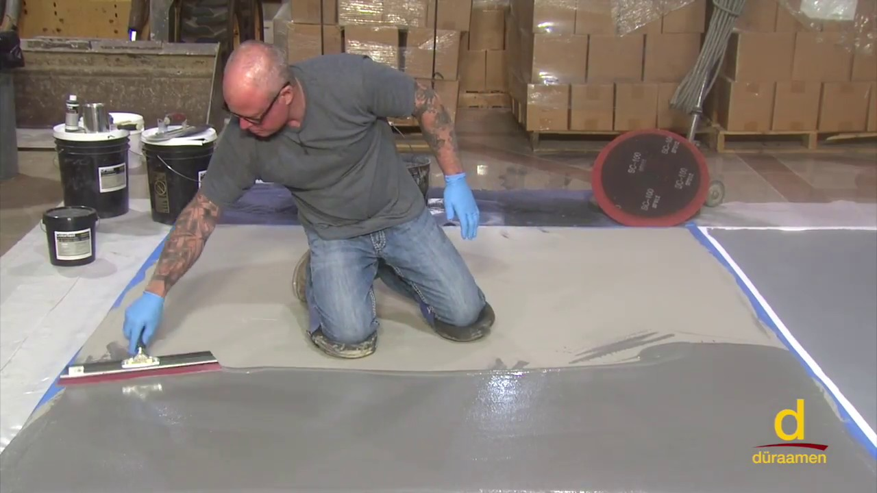 How To install Polished Concrete Over Gypsum Subfloor | Part 2