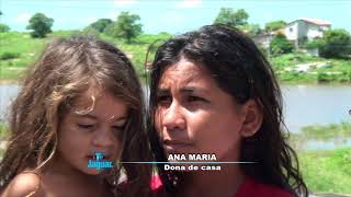 Ana Maria relata o apoio dado pela prefeitura e assistência social nesse momento critico das chuvas
