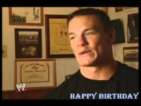 Happy Birthday John Cena YouTube