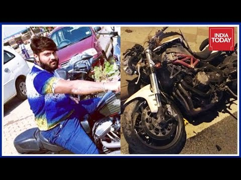Youth Dies After High Speed Racing On Super Bike In Delhi : Caught On Cam