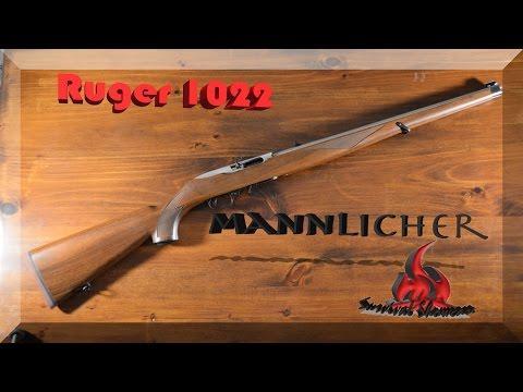 Ruger 1022 Mannlicher Rifle