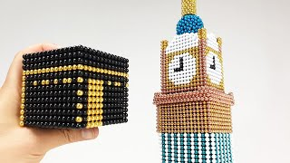 Makkah Royal Clock Tower out of Magnetic Balls | Magnetic Games