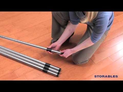 Storables Industrial Post Shelving Assembly Instructions.mov