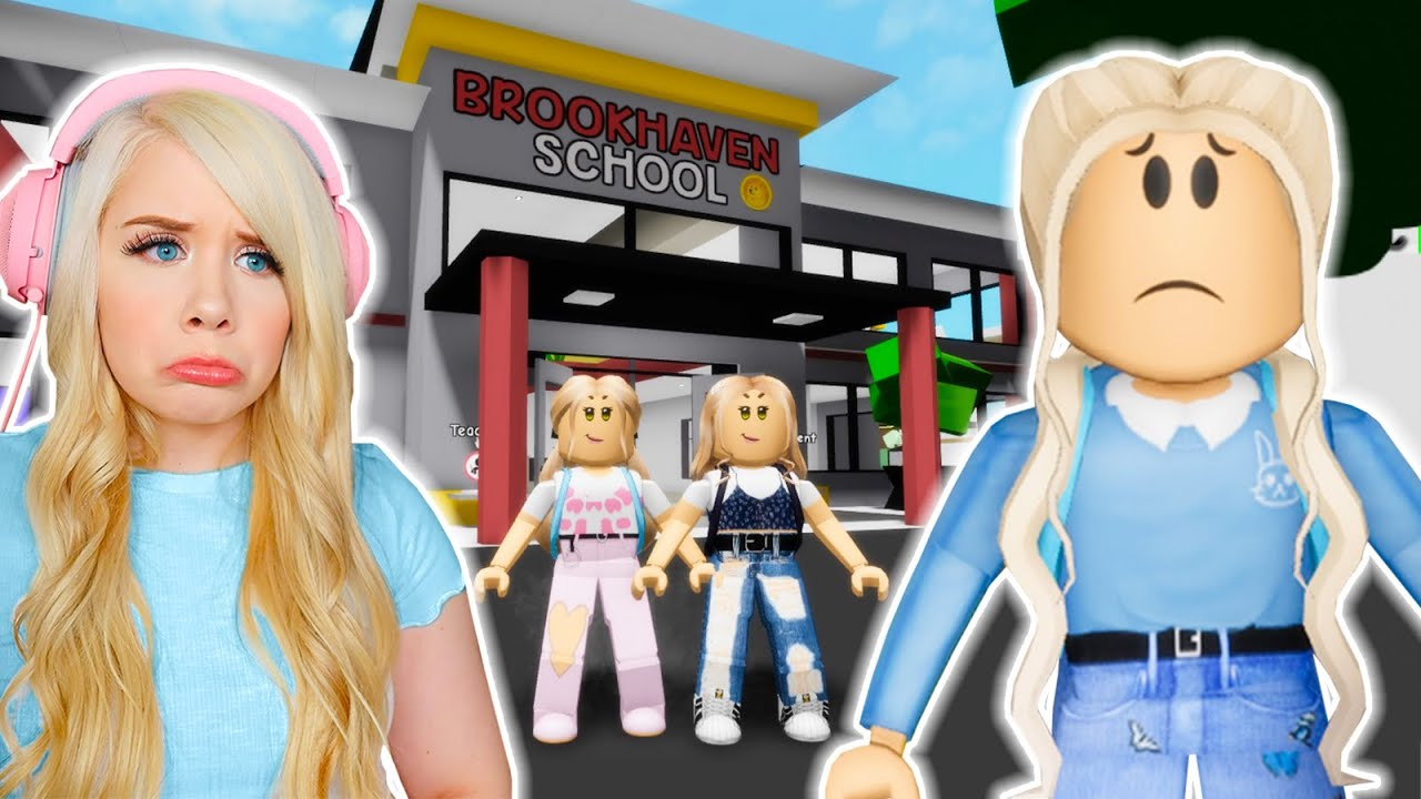 Download I WAS THE NEW GIRL AT SCHOOL IN BROOKHAVEN! (ROBLOX BROOKHAVEN RP)