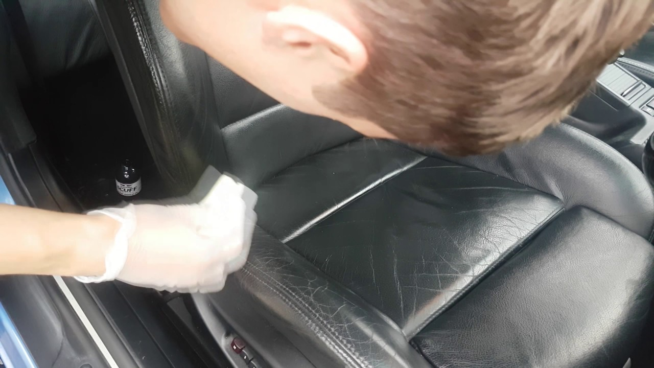 how to dye worn out leather seats bmw e46 [ 1280 x 720 Pixel ]