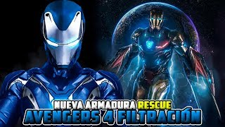 AVENGERS 4 TRAILER FECHA?! FILTRADO IMPRESIONANTE ARMADURA *RESCUE*