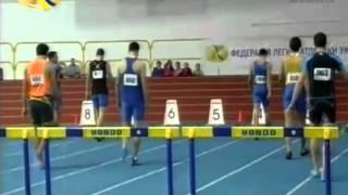 60м с/б Мужчины Финал - Чемпионат Украины 2015 Сумы