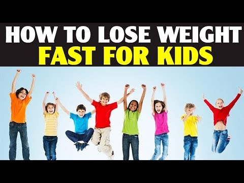 How to Lose Weight Fast For Kids | How to Lose Belly Fat For Kids With Home Remedies