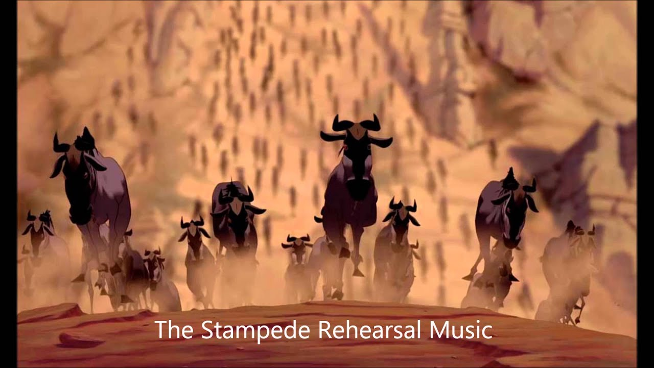 The Stampede Rehearsal Music Youtube