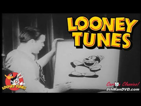 LOONEY TUNES (Looney Toons): Bosko, the Talk Ink Kid (pilot) (1929) (Remastered) (HD 1080p)