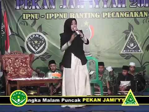Merinding denger lagu malem jumat, ustadah Mumpuni, live terbaru