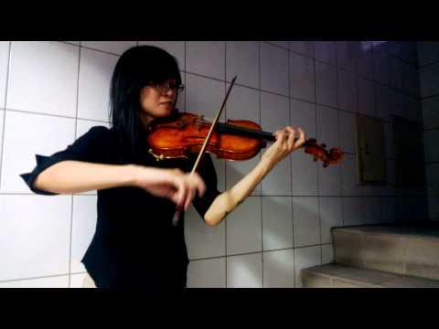 Bach Cello Suite No.1 Prelude with Violin (Student Grace)