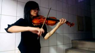Bach Cello Suite No.1 Prelude with Violin (Student Grace)