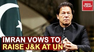 Imran Khan Vows To Raise Kashmir Issue At Un, India Warns Pakistan