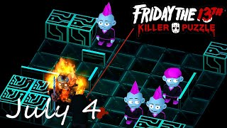 Friday the 13th Killer Puzzle Daily Death July 4 2020 Walkthrough