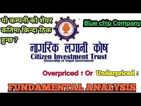 CITIZEN INVESTMENT TRUST Fundamental analysis ( CIT )NAGRIK LAGANI KOSH | Nepali share market |nepse