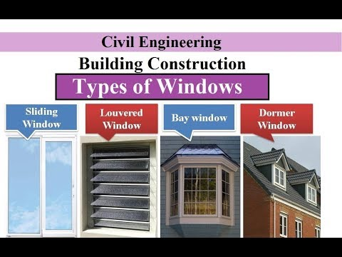 Types Of Windows Building Construction
