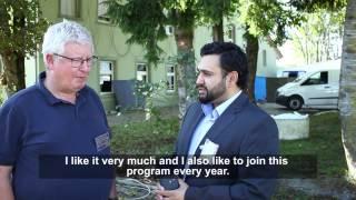 Jalsa - Interviews with Guests - Jalsa Salana Switzerland 2014