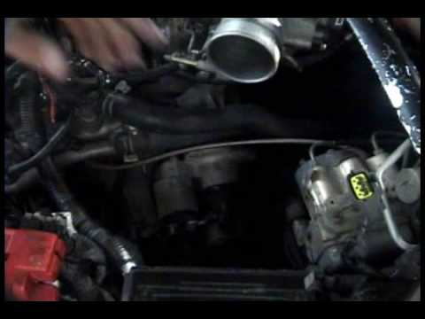 1995 2001 Nissan Maxima Starter Replacement Youtube