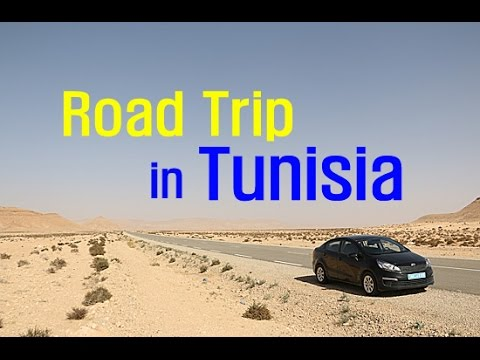 튀니지 자동차 여행 1,579km(Road Trip Tunisia : Tunis to Douz, Matmata) - 2016.02