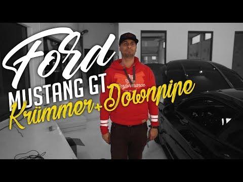 JP Performance - Ford Mustang GT | Krümmer+Downpipe