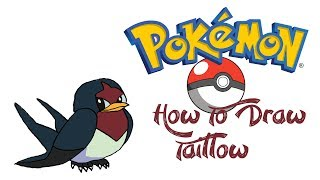 How To Draw Taillow (POKEMON)