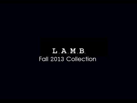 LAMB FALL WINTER 2013 | L.A.M.B Fashion