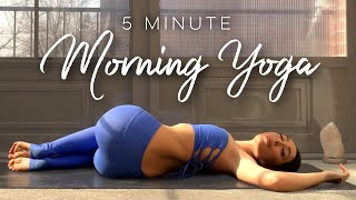 5 Minute Morning Yoga Flow for Beginners