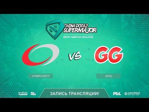 compLexity vs isGG, China Super Major NA Qual, game 1 [Autodestruction]