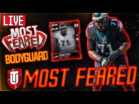 MUT 18 MOST FEARED -- THE BODYGUARD JASON PETERS | MUT SATURDAY | MADDEN 18 Ultimate Team