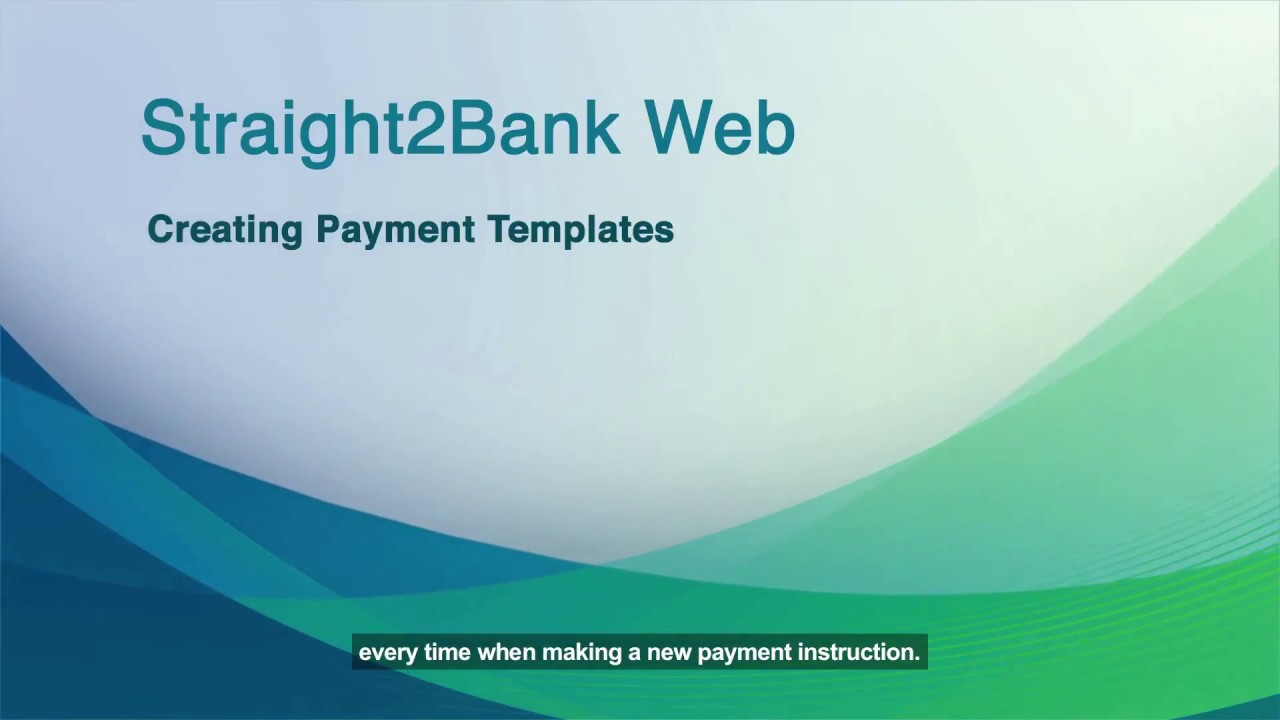 Cash Payment template and bulk import YouTube – Cash Payment Template