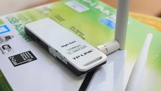 Review TP LINK Wifi USB TL WN722N
