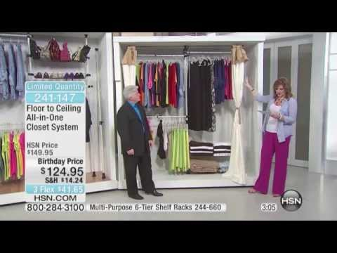 Merveilleux John Cremeans Presents The Floor To Ceiling Closet System