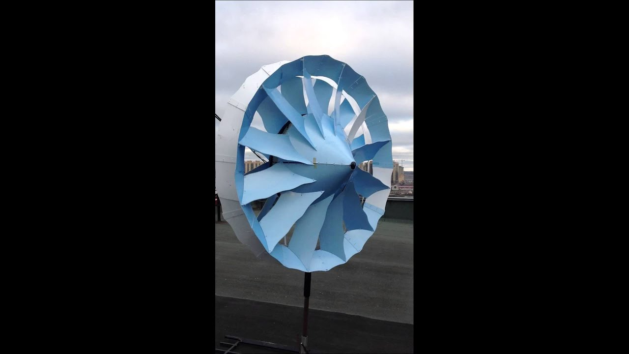 Compact Double Ducted Wind Turbine Generator 10 Kw 10 Mw